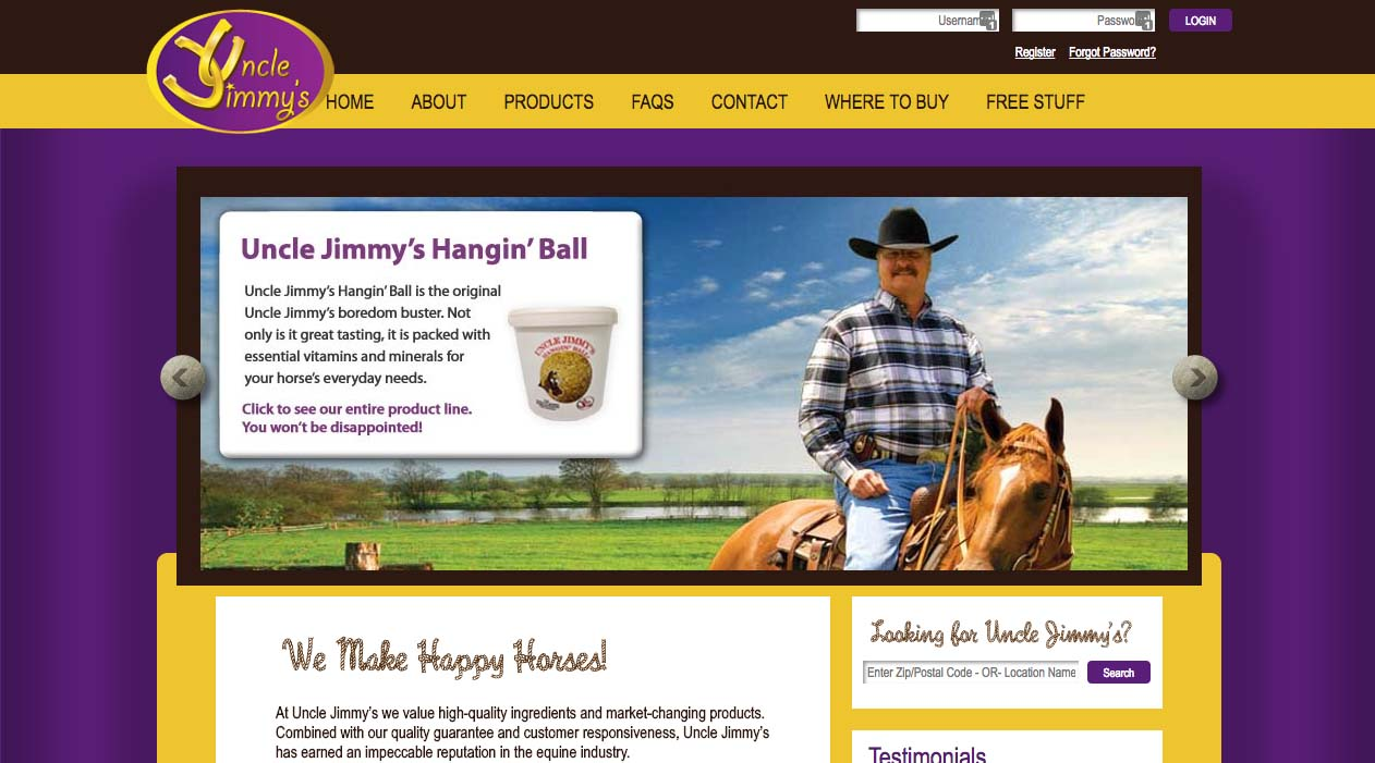 Uncle Jimmys Horse and Poultry Supplements